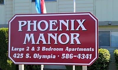 Community Signage, 425 S Olympia St, 2