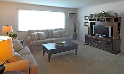 Living Room, Autumn Chase Apartments, 1