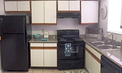 Kitchen, Redstone Apartments, 2