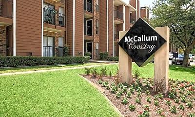 Community Signage, McCallum Crossing, 2