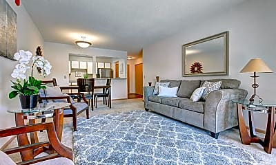 Living Room, Northpointe Apartments, 0