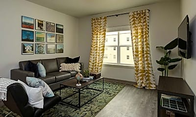 Living Room, The Gather Bellingham (Available Now & Pre-Leasing For 2018), 0