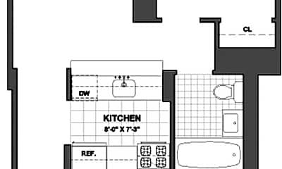 Living Room, 121 E 23rd St, 2