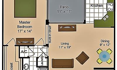 1 Bed.jpg, 14th Street, 2
