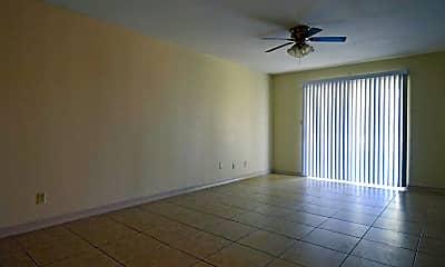 Living Room, Royal Oaks Apartments, 1