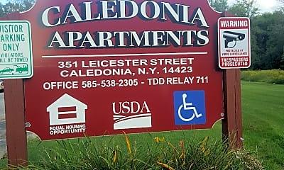Caledonia Apartments, 1