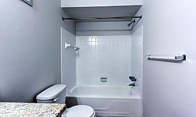 Bathroom, Greens Lake Apartments, 2