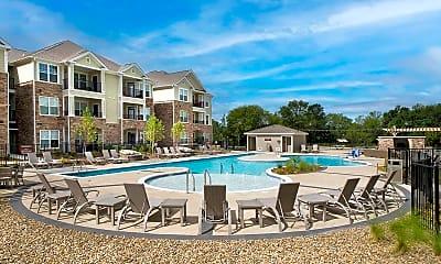 Pool, Legacy Concord Apartments, 1