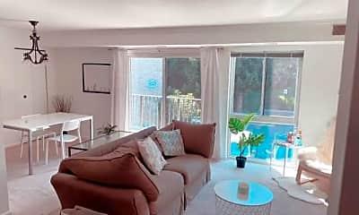 Living Room, 6147 Edsall Rd K, 1