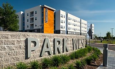 Community Signage, Park West, 1