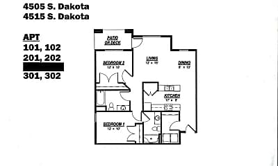 Building, 4505 Todd Dr, 1