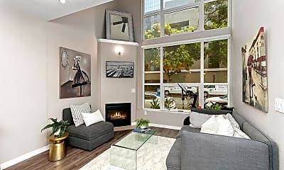 Living Room, 1240 India St 103, 1