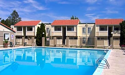 Pool, Lakeview Apartments, 0