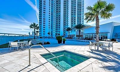 Pool, 231 Riverside Dr 1002-1, 1