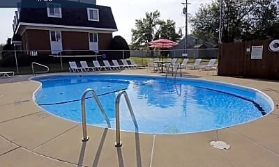 Pool, 1308 W Covington Ct, 1