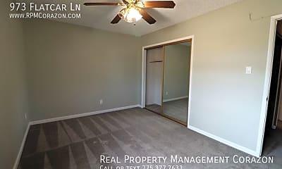 Bedroom, 973 Flatcar Ln, 2