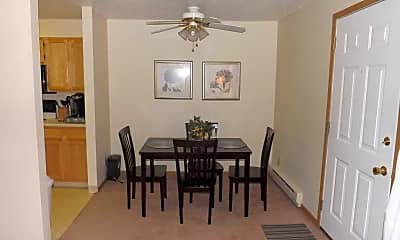Dining Room, Triple Crown Apartments, 2