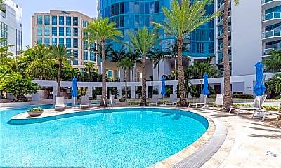Pool, 333 Las Olas Way 3207, 1