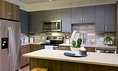 Kitchen, Platform Apartments, 1