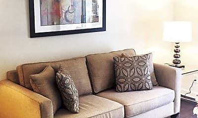 Living Room, Warner Pines Apartments, 0