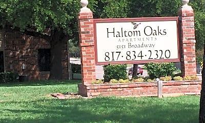 Haltom Oaks, 1