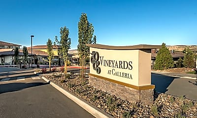 Community Signage, Vineyards at Galleria, 2