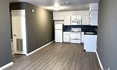 Kitchen, 420 N Gilmer St Apt 2, 1