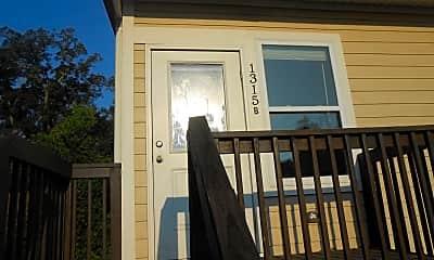Patio / Deck, 1315 N Duval St, 0