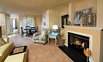 Living Room, Regency Apartments, 0