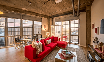 Living Room, 183 Broadway, 1