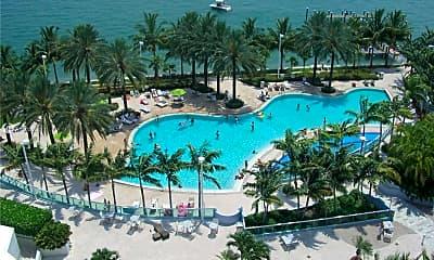 Pool, 1500 Bay Rd 914S, 1