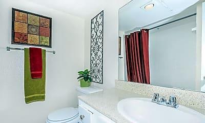 Bathroom, La Estancia Apartments, 2