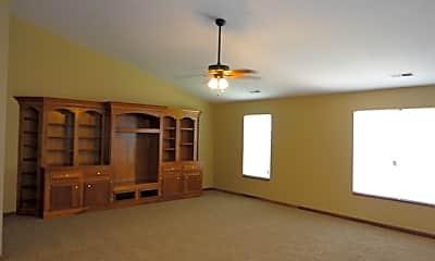 Living Room, 1207 Oakleaf Road, 1
