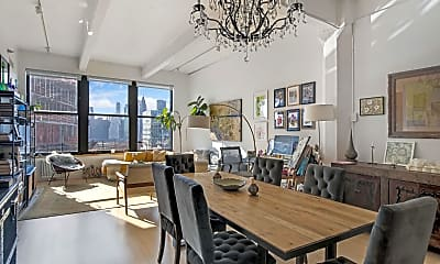 Dining Room, 70 Washington St 10-M, 1