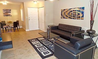 Living Room, 2810 N Oakland Forest Dr, 1