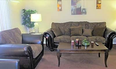 Living Room, King's Court Apartments, 1