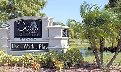 Community Signage, Oasis at Bayside, 0