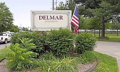 Community Signage, Delmar at Bentonville, 2