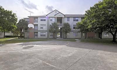 Basketball Court, Royal Poinciana, 1