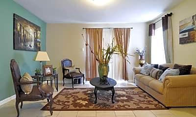 Living Room, Tierra del Sol Apartments, 1