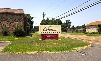 Orleans Apartments, 1