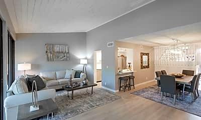 Living Room, 205 Old Meadow Way, 0
