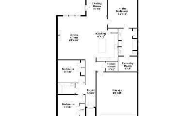 Building, 6518 Roux Dr, 1