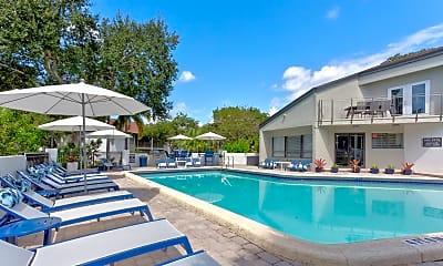 Pool, Siena Apartments, 0