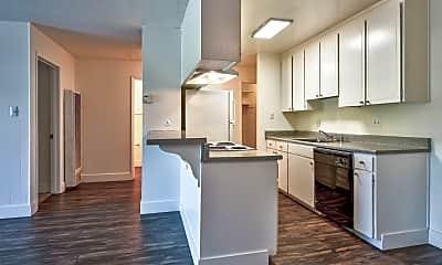 Kitchen, Modera Apartments, 1