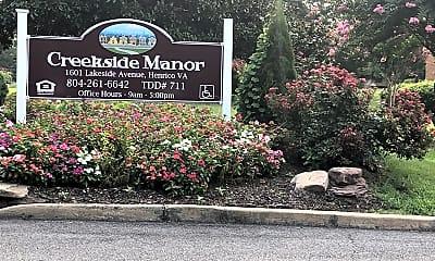 Creekside Manor, 1