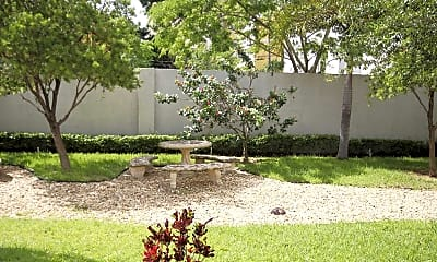 Landscaping, Second Plaza, 1