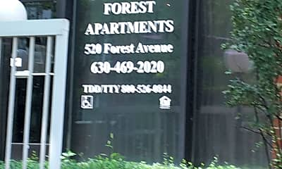 Forest Apartments, 1