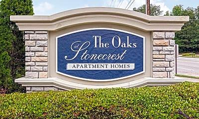 Community Signage, The Oaks at Stonecrest, 2