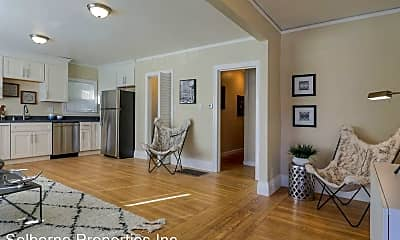 Living Room, 5543 Claremont Ave, 1